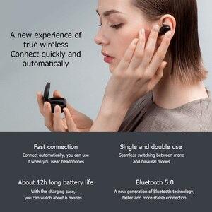 Image 4 - Original Xiaomi Redmi Airdots 2 TWSหูฟังไร้สายบลูทูธ5.0สเตอริโอหูฟังแฮนด์ฟรีMic AIควบคุม