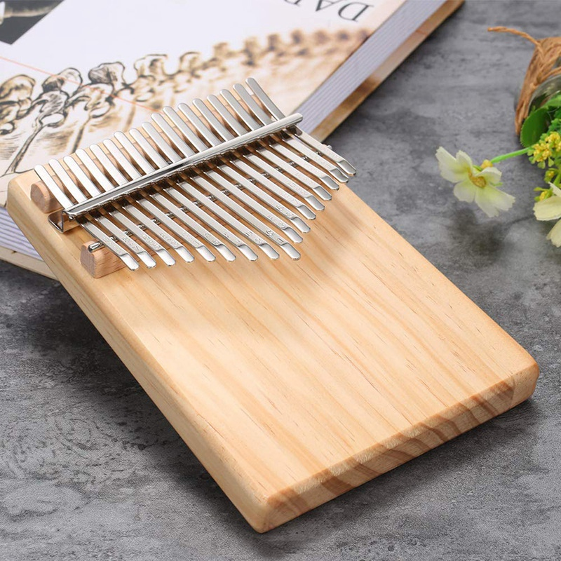 Hot HG-17 Keys Mbira Pocket Musical Instrument Finger Piano Kalimba Portable Thumb Piano Is Gift for Your Friends and Family