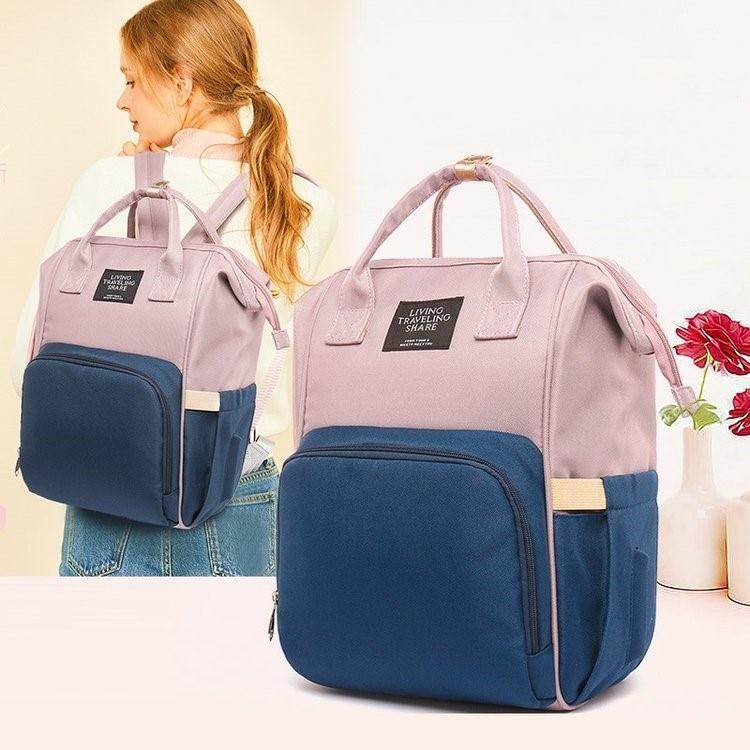 Baby Diaper Bag Mom Multi-function Change Car Bag Large Capacity Waterproof Outdoor Bag Mom Travel Zipper Fashion Backpack Care