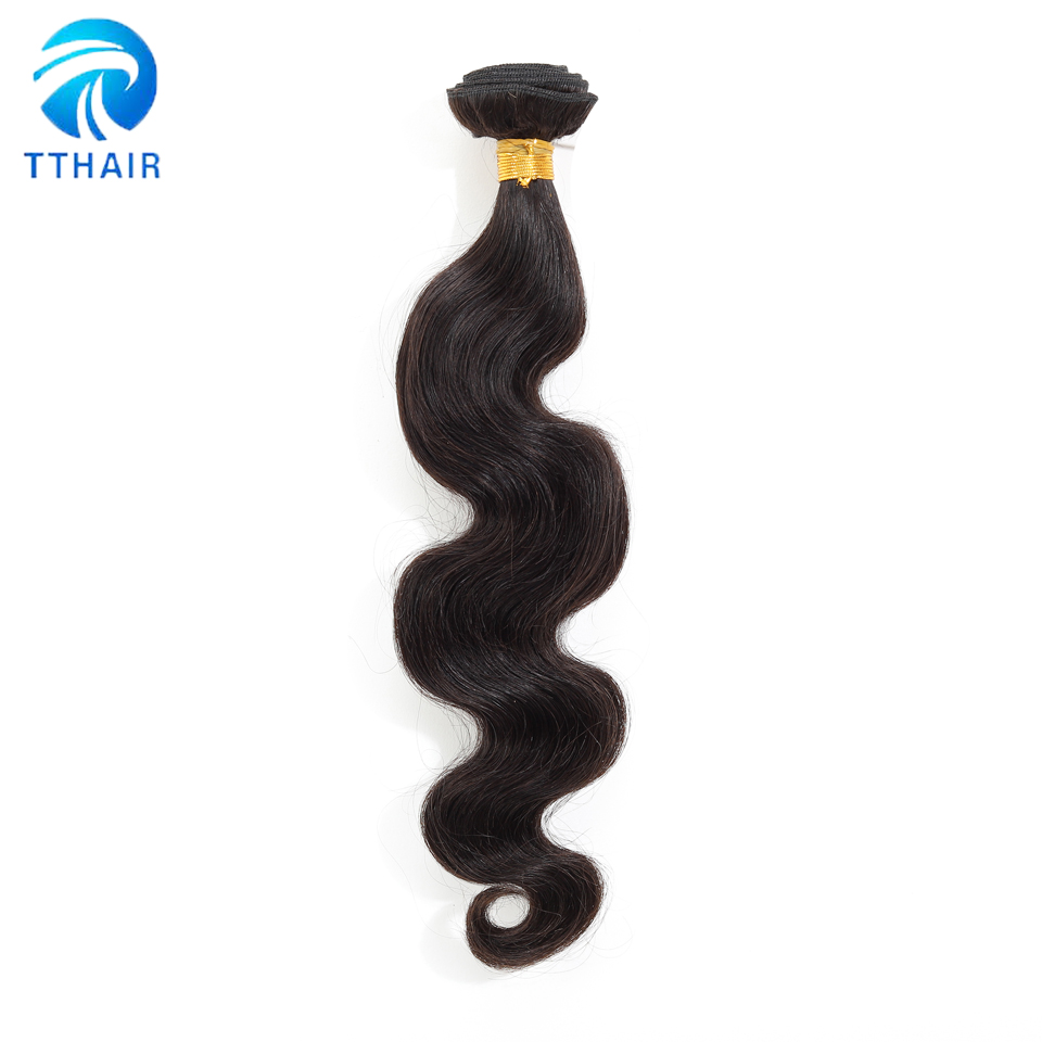 Image 3 - Body Wave Bundles With Closure  Brazilian Hair Weave Bundles With Closure Human Hair 3 Bundles With Closure Remy TTHAIR-in 3/4 Bundles with Closure from Hair Extensions & Wigs