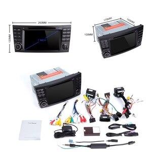 Image 5 - ZLTOOPAI سيارة مشغل وسائط متعددة السيارات مشغل ديفيدي لمرسيدس بنز E Class W211 E300 CLK W209 CLS W219 راديو تلقائي لتحديد المواقع ستيريو 2 الدين