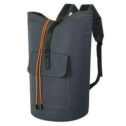 ABSS-очень большая сумка для стирки, рюкзак для стирки, подвесная корзина для белья, регулируемые плечевые ремни, Сумка для кемпинга, водонепр...