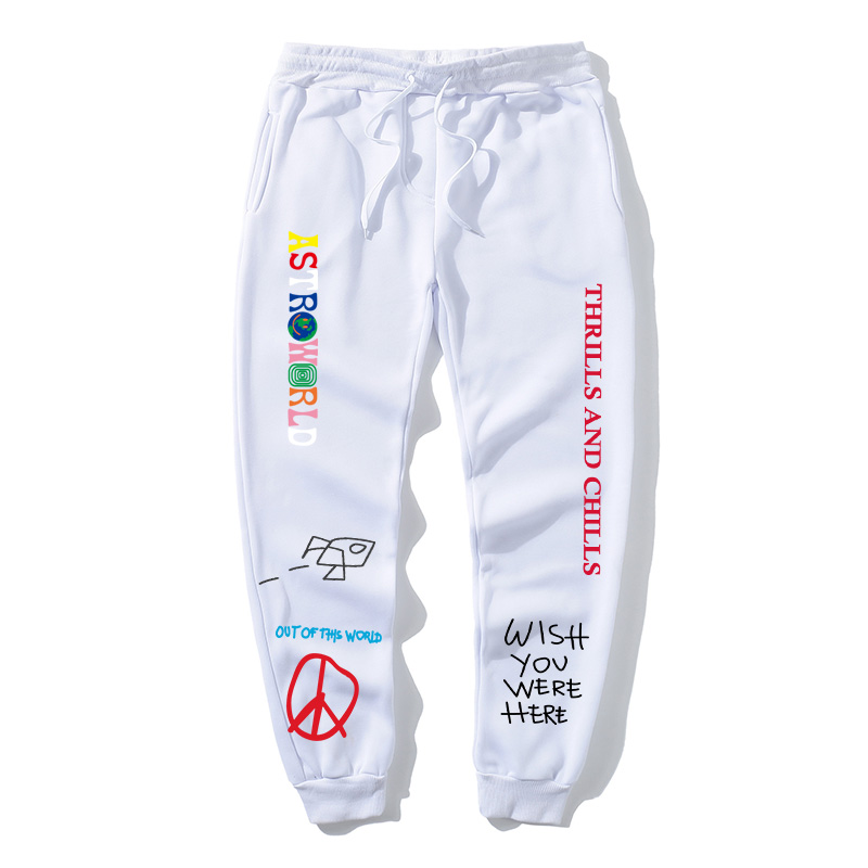 Sports Pants Letter Printing Signature Pants Jogger Series Men And Women Casual Pants Hip-hop Funny Fashion Sports Pants Hoodie