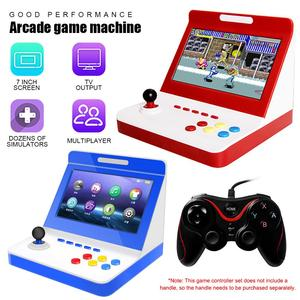 Portable Game Controller Mini Nostalgic Game Console 7 inch Large Screen Home Game Machine for Arcade Games