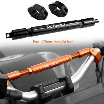 New 7/8 Handlebars Crossbar Bar 22mm Handlebar with compass Motocross Motorcycle Quad ATV CRF DTR PIT BIKE