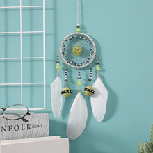 Ins Scandinavian style Dream Catcher Wind chimes Hanging Handmade Weave Mesh Dreamcatcher Pendant For Single & Adult party Gifts