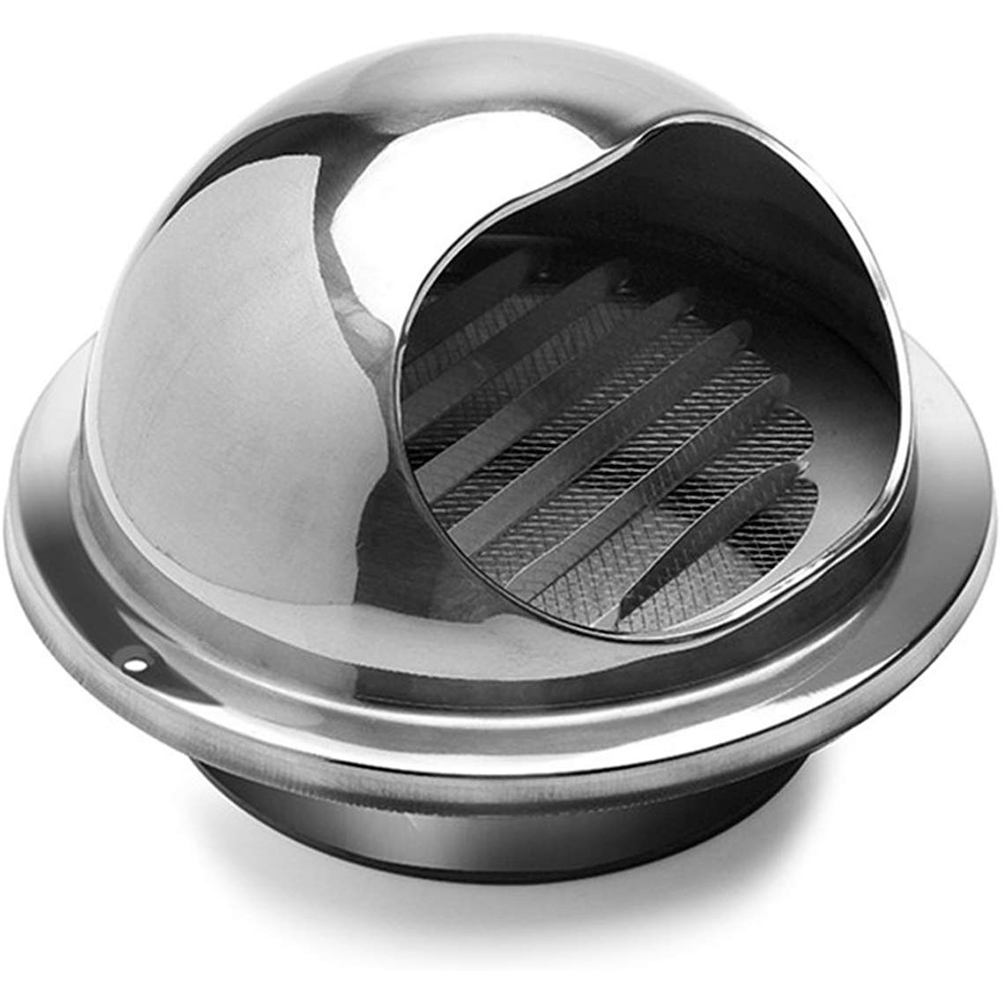 304 Stainless Steel Ventilation Exhaust Cover Air Vent Round Grille Wall Vent Outlet