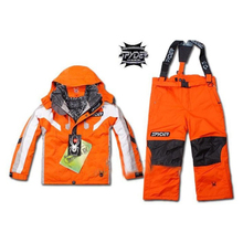 Keep Warm Children's Ski Suit Suitable For Outing Camping Mountain Climbing Ice Skating
