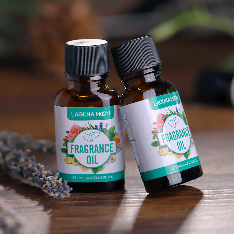 LAGUNAMOON 10ML Angel Oils Essential Lime Basil Midnight Rose Summer Rose Lemon For Candle Soap Making Perfume perfume oil-1