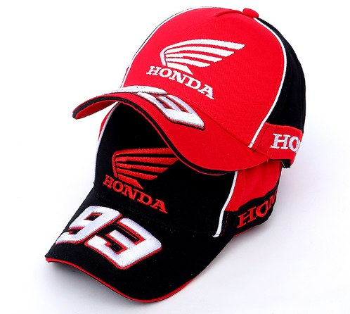 F1 Cap Honda Baseball-Cap Riding-Hats Moto Embroidered Golf GP 93 Wing Gorro 3D Men