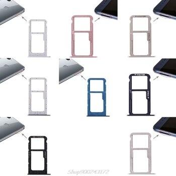 Plateau+de+carte+SIM+double+porte-fente+pi%C3%A8ce+de+r%C3%A9paration+pour+Huawei+Honor+8%2FHonor+9+Lite