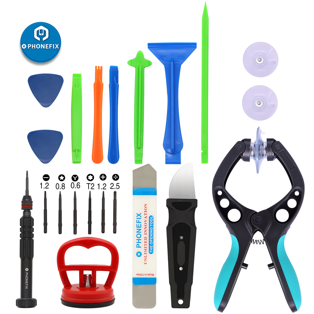 Universal 13 IN 1 Mobile Phone Repair Screwdriver Set With Sucker Spudger Pliers Pry Screen Removal Tools Kit For IPhone Repair
