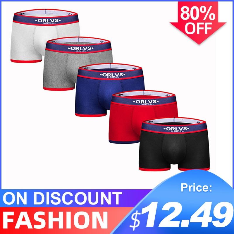 5Pcs/lot CMENIN Hot Sale Cotton Solid Comfortable Underwear Mens Boxer Homme Innerwear Boxer Men Undeware Boxers Sexi OR138