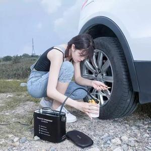 Image 5 - 70mai sprężarka powietrza 12V opona samochodowa Inflator 70 MAI przenośna elektryczna pompa powietrza 100PSI cyfrowa Mini sprężarka opona nadmuchiwana pompa