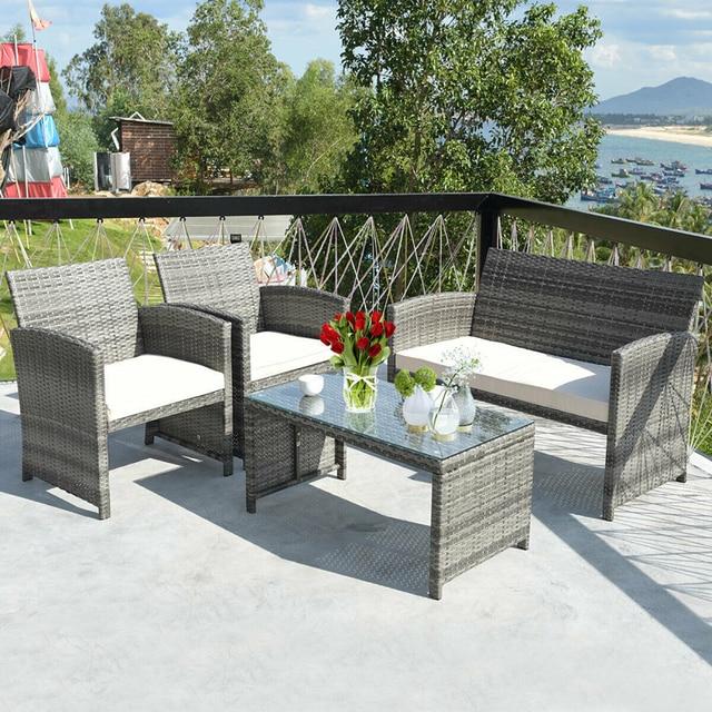 4 Piece Patio Furniture Set 4