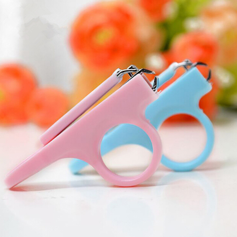 Good Safety Baby Toddler Infant Mini Baby Finger Nail Care Practical Clip Trimmer Convenient Daily Baby Accessories Set 2 Colors