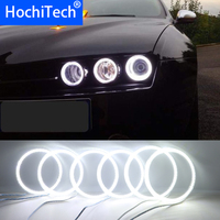 6pcs Super Bright white color 3528 SMD led Angel Eyes kit daytime running light DRL for Alfa Romeo 159 2005 2011 Car Styling