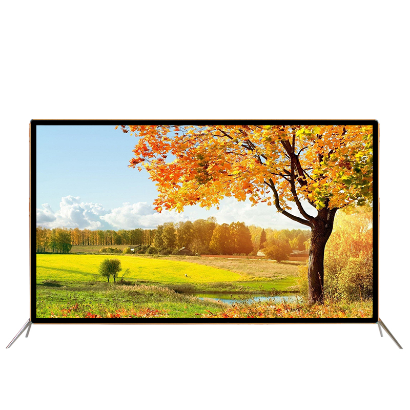 55 60 65 inch android smart wifi internet LED LCD 4K television TV image