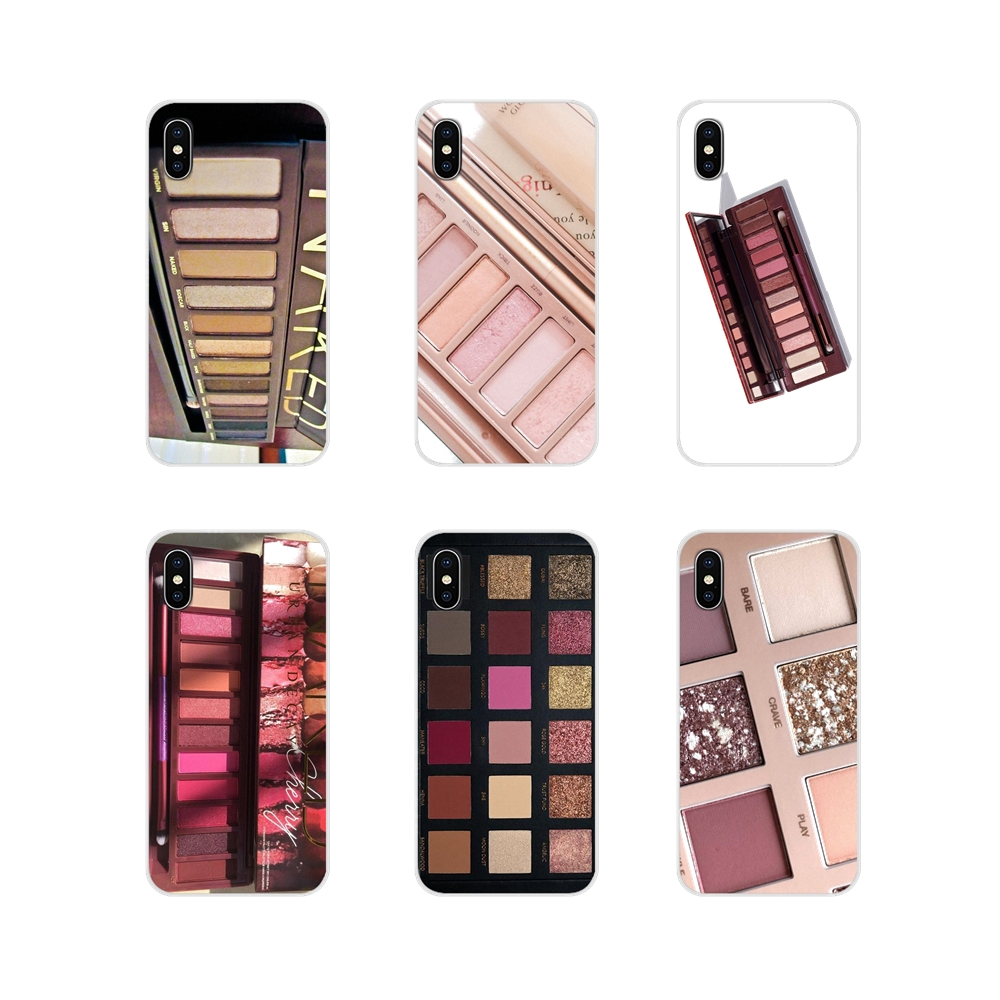 TPU Cover Naked Palette Fashion Glam Makeup Eye shadow For Apple iPhone X XR XS 11Pro MAX 4S 5S 5C SE 6S 7 8 Plus ipod touch 5 6 image