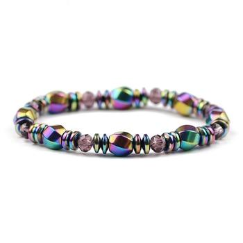 Bracelet Hématite Multicolore