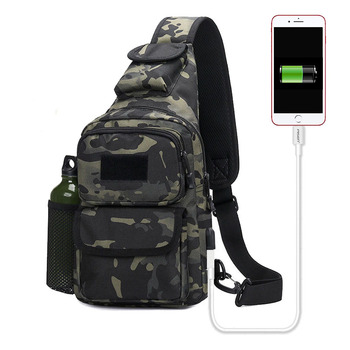 Military Bag Tactical Backpack Shoulder Climbing Travel Hiking Trekking Outdoor Sports Anti Theft water bottle Bags