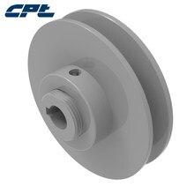 Poulie réglable VP à rainure unique 1VP30 OD 2.87 pouces (72.9mm) pour ceintures 3L, 4L, 5L, A, B, 5V