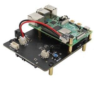 Image 4 - פטל Pi 4 דגם B 2.5 אינץ SATA HDD/SSD אחסון הרחבת לוח, x825 USB3.1 קשיח נייד דיסק מודול לפטל Pi 4B