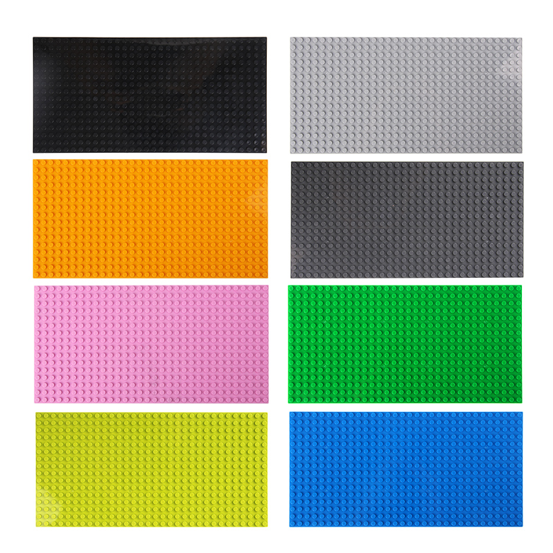 Image 3 - 16*32 Dots Classic Base Plates Compatible LegoINGlys Baseplates City Dimensions Building Blocks Construction Toys For Children