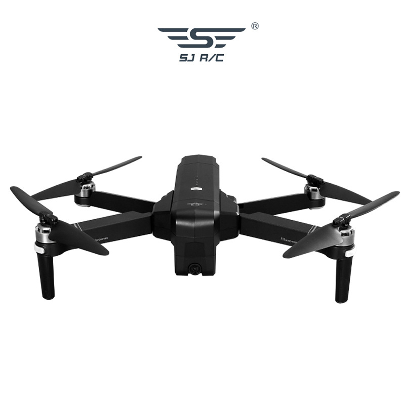 Sjrc Shi Ji F11 Pro Unmanned Aerial Vehicle Folding Design Brushless Motor G Ps Positioning 5G 1080P