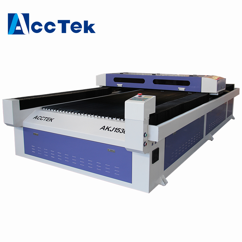 AccTek Cnc Laser Machine With Mirrors And Lens/ Big Size 20mm Acrylic Laser Cnc Cutting Machine For Nonmetal Materials