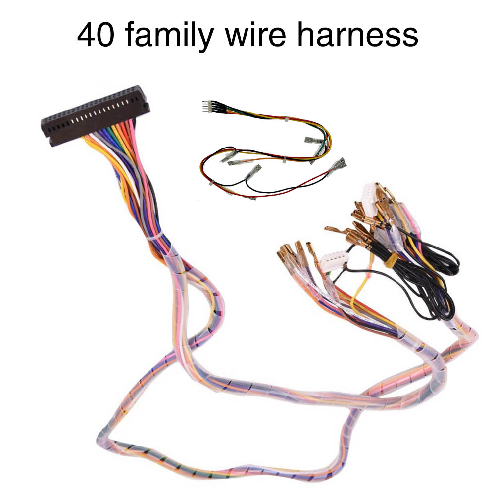 Pandora Game Box Family Version Wire Harness Power With Adapter Cable For Arcade Console Arcade Cabinet Pandora Saga