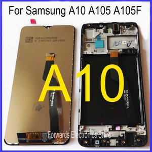 for Samsung A10 LCD M10 screen display A105 M105 with touch with frame assembly