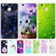 Чехлы для xiaomi Redmi 4X, силиконовый чехол, милый чехол для xiaomi Redmi 4X Pro, чехол для xiaomi Redmi 4X, чехол для телефона с цветами