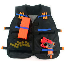 Mrij 2019 Tactische Vest Jas Elite Pistool Kogel Speelgoed Pistool Clip Darts Carrier Cs Outdoor Kleding Jacht Assault Vest(China)