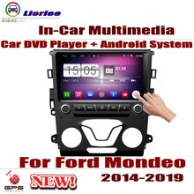 For Ford Mondeo 2014~2019 Car Android GPS Navigation DVD Player Radio Stereo AMP BT USB SD AUX WIFI HD Screen Multimedia