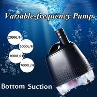 Water Pump Fish Tank 20W / 30W / 40W / 60W Water Pump Tank Fountain Bottom suction pump for freshwater aquarium tank