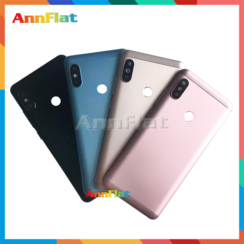 High Quality For Xiaomi <font><b>Redmi</b></font> <font><b>Note</b></font> <font><b>5</b></font> / <font><b>Note</b></font> <font><b>5</b></font> <font><b>Pro</b></font> Back Housing <font><b>Battery</b></font> <font><b>Cover</b></font> Door Rear <font><b>Cover</b></font> For <font><b>Redmi</b></font> <font><b>Note</b></font> 5Pro Replacement image
