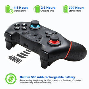 Image 3 - Gamepad mando inalámbrico Bluetooth para Nintendo Switch Pro NS, controlador de juego para consola Switch con mango de 6 ejes