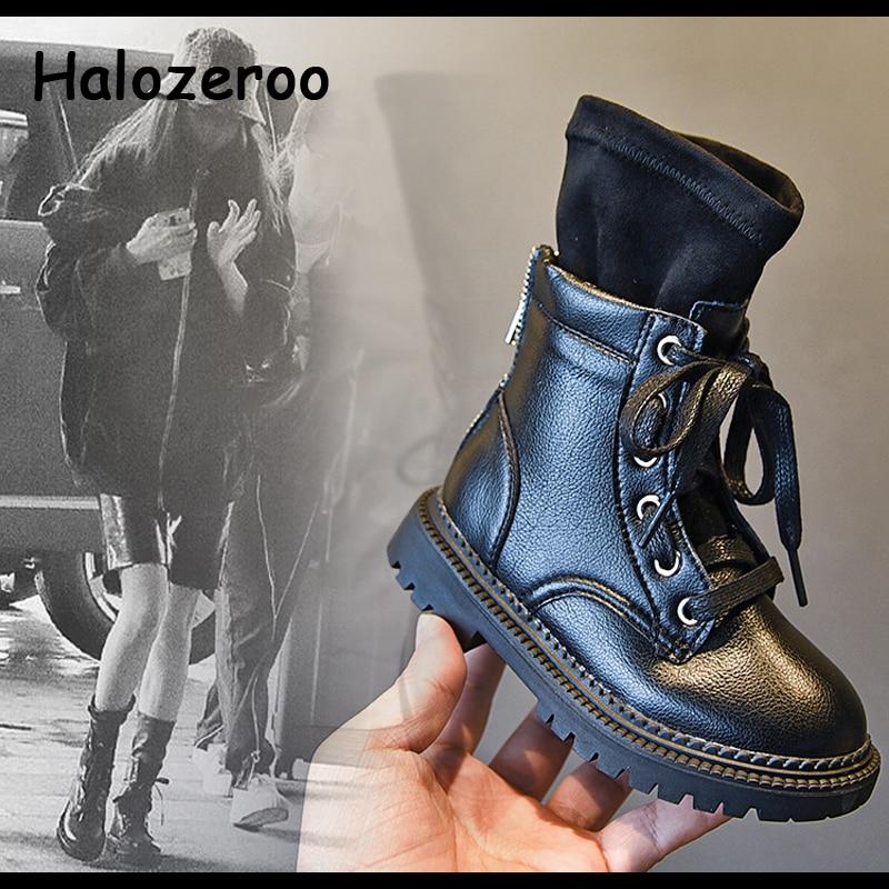 New Autumn Kids Martin Boots Girls