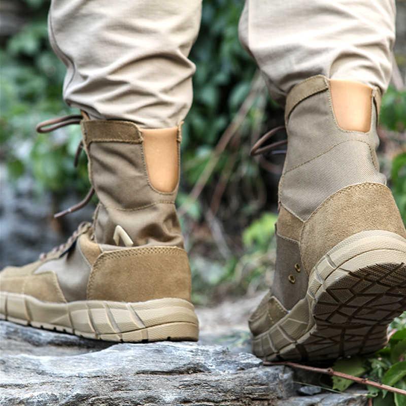 Nieuwe Kwaliteit Coyote Desert Tactische Militaire Laarzen Mannen Combat Laarzen Herenschoenen Werken Klimmen Mannen Leger Laarzen Vrouwen sneakers laarzen
