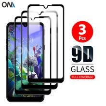 Protetor de tela para lg q60 q70 q61 vidro temperado premium cobertura completa proteção filme de vidro para lg k12 prime
