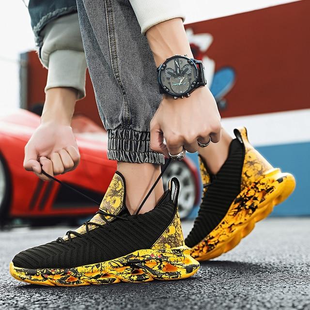2021 Men Graffiti Sports Shoes -Breathable  5