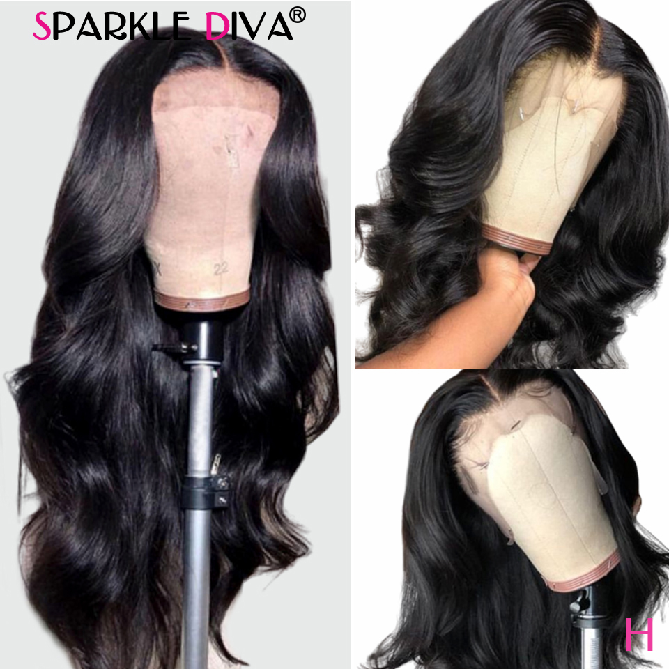 13*4 Lace Front Wigs 150% Brazilian Body Wave Human Hair Lace Front Wigs For Black Women With Baby Hair Glueless Remy Lace Wigs