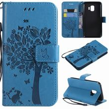 Phone Case For Samsung Galaxy J5 2016 J510F Case Cute Cat Flip Leather Wallet Cover For Samsung J5 2015 Coque Card Holder