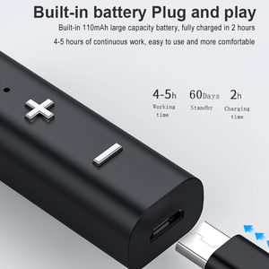 Image 4 - KebiduคลิปปากกาBluetooth 4.0 Receiverหูฟังอะแดปเตอร์สำหรับiPhone Xiaomiแฮนด์ฟรีอะแดปเตอร์เพลงไร้สายสำหรับชุดหูฟัง