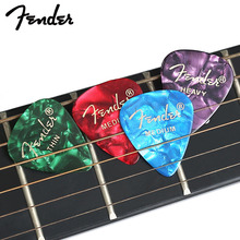 купить Fender 1 pc Premium Celluloid Guitar Picks Bass Mediator Acoustic Electric Accessories Classic Guitar Part Pick 0.46/0.68/1.00mm по цене 18.86 рублей