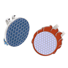 2 шт Мода сплав шапка с козырьком, Кепка клип с магнитный маркер мяча