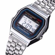 Hot luxury brand design LED Watch Fashion Multifunction Life Waterproof