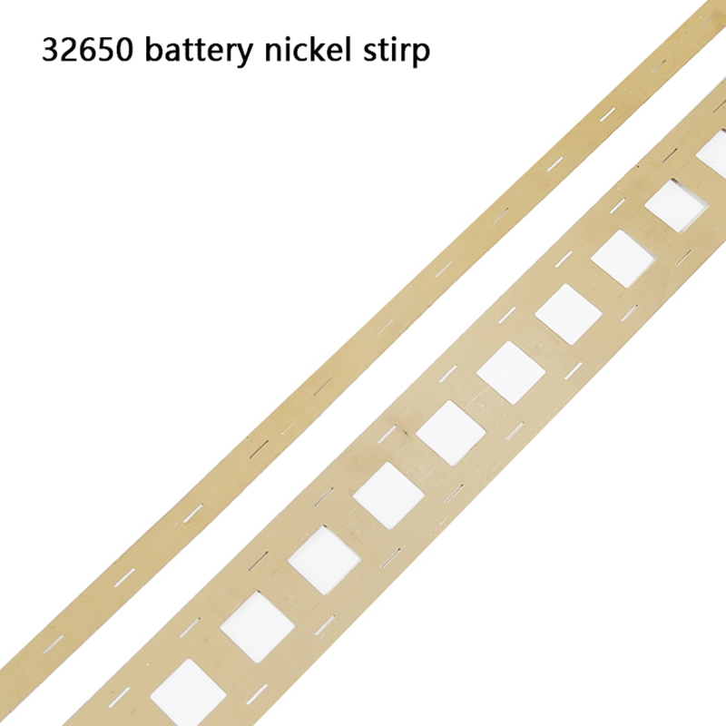 1M High Purity 32650 Pure Nickel For 32650 Lithium Batteries Welding Tape Nickel Belt For 32650 Battery 2P/3P Holder
