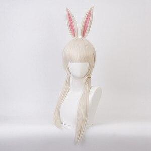 Image 2 - Anime BEASTARS Haru Perücke Kaninchen Cosplay Kostüm Synthetische Haar Party Cosplay Perücken